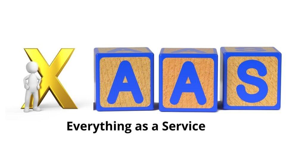 Todo como servicio - XAAS